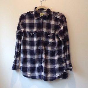 Plaid checkered flannel
